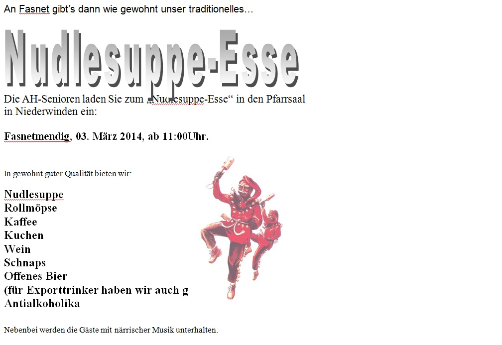 Nudlesuppeesse